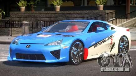 Lexus LFA Nurburgring Edition PJ5 para GTA 4