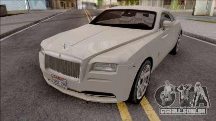 Rolls-Royce Wraith 2014 Grey para GTA San Andreas