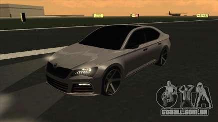 Skoda Superb Style para GTA San Andreas