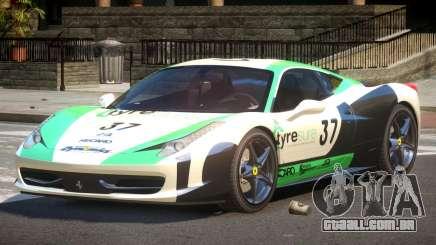 Ferrari 458 Italia GT PJ5 para GTA 4