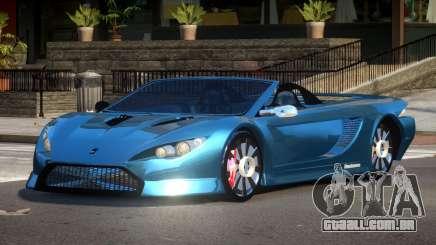 K1 Attack Roadster para GTA 4