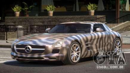 Mercedes Benz SLS AMG GS PJ4 para GTA 4