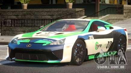 Lexus LFA Nurburgring Edition PJ1 para GTA 4