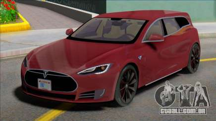 Tesla Model S Wagon para GTA San Andreas