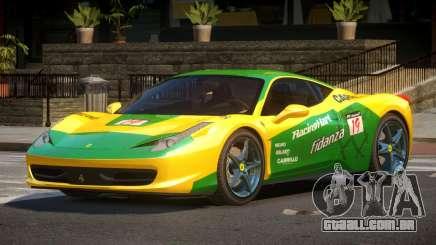 Ferrari 458 PSI PJ6 para GTA 4