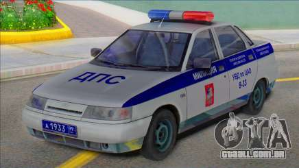 Polícia De Vaz 2110 DPS 2003 para GTA San Andreas
