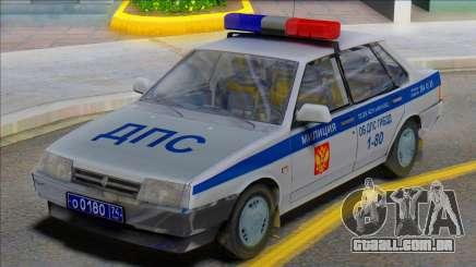 Polícia de Vaz 21099 DPS para GTA San Andreas