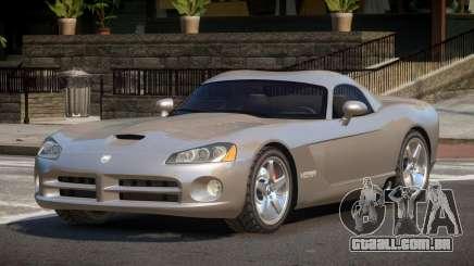 Dodge Viper ZT para GTA 4