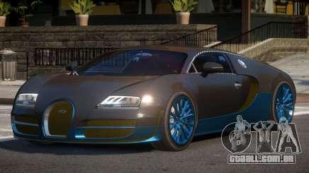 Bugatti Veyron BS para GTA 4