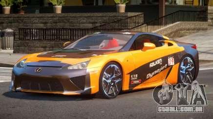 Lexus LFA Nurburgring Edition PJ2 para GTA 4
