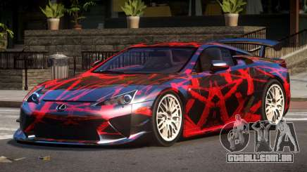 Lexus LFA RT PJ5 para GTA 4