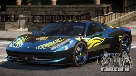 Ferrari 458 Italia GT PJ3 para GTA 4