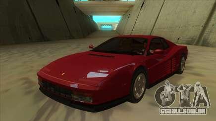 Ferrari Testarossa 1986 para GTA San Andreas