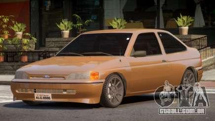 Ford Escort LT para GTA 4