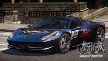 Ferrari 458 Italia GT PJ4 para GTA 4