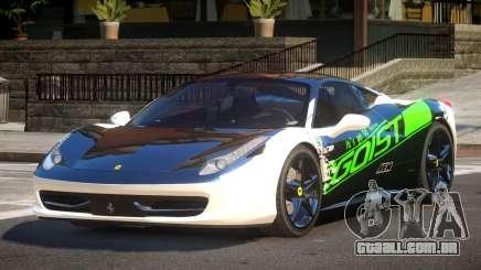 Ferrari 458 Italia GT PJ6 para GTA 4