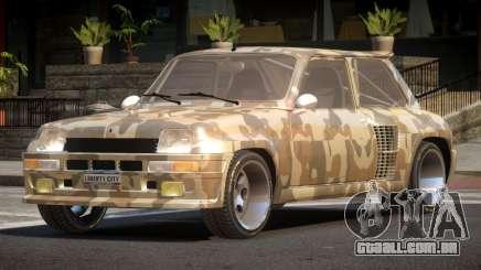 Renault 5 RS PJ1 para GTA 4
