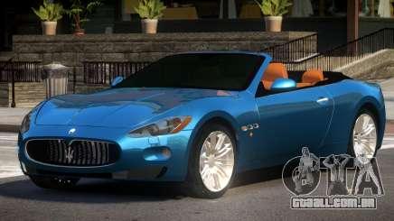 Maserati GranCabrio SR para GTA 4