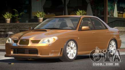 Subaru Impreza GS para GTA 4