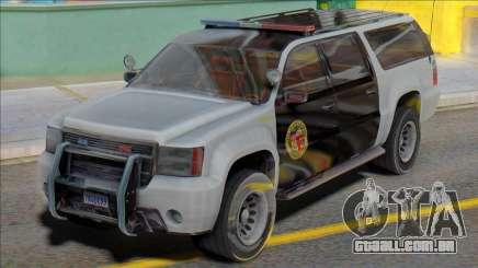 2007 Chevrolet Suburban Police para GTA San Andreas