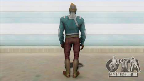 Star Lord MFF para GTA San Andreas