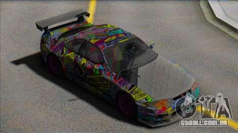 Nissan Skyline GTR Sticker Bomb para GTA San Andreas