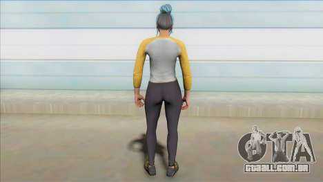 GTA Online Custom Summer Skin [New DLC] para GTA San Andreas