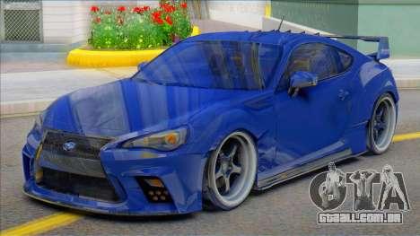 2014 Subaru BRZ Aimgain para GTA San Andreas