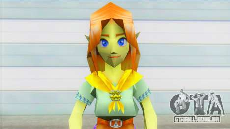 Malon - Legend of Zelda Ocarina of Time para GTA San Andreas