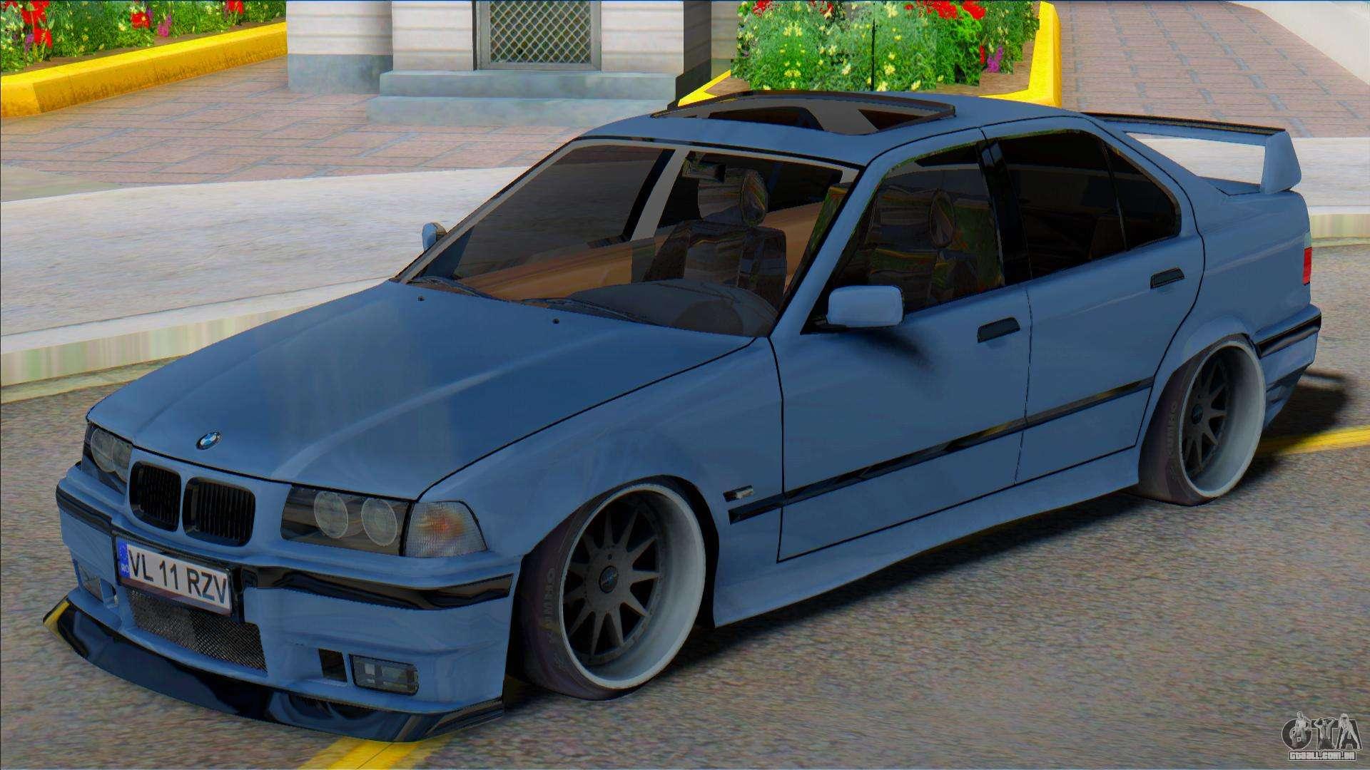 Bmw E36 Sedan Low Para Gta San Andreas