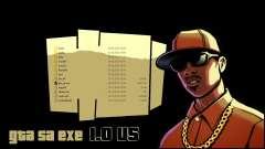 GTA_SA.EXE 1.0 US versão original para GTA San Andreas