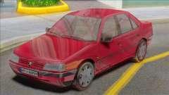 Peugeot 405 GLX Red para GTA San Andreas