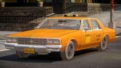 1985 Chevrolet Impala Taxi