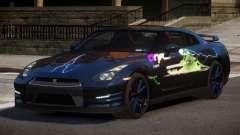 Nissan GT-R GST L6 para GTA 4