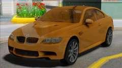 BMW M3 E92 Yellow Coupe para GTA San Andreas
