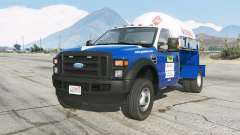 Ford F-550 2008 Gas Ideal De Mexico para GTA 5