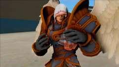 Thanatos Angel from SMITE para GTA San Andreas