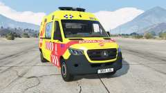 Mercedes-Benz Sprinter Ambulancia para GTA 5
