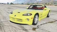 Dodge Viper GTS ACR 1999 para GTA 5