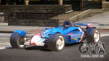 Stadium Car from Trackmania PJ3 para GTA 4