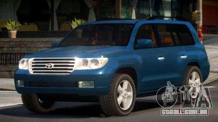 Toyota Land Cruiser 200 GST para GTA 4
