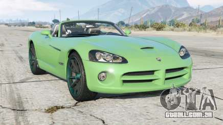 Dodge Viper SRT-10 Roadster (ZB I) 2005 para GTA 5