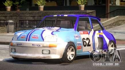 Rally Car from Trackmania PJ1 para GTA 4