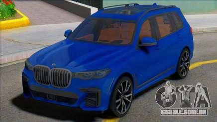 BMW X7 2019 para GTA San Andreas