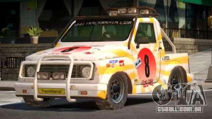 Snow Car from Trackmania PJ4 para GTA 4