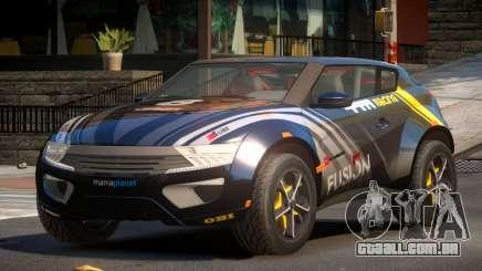 Lagoon Car from Trackmania 2 PJ3 para GTA 4
