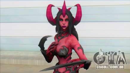 Female Demon para GTA San Andreas