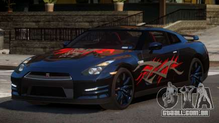 Nissan GT-R GST L7 para GTA 4