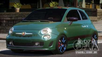 Fiat 500 Abarth HK para GTA 4