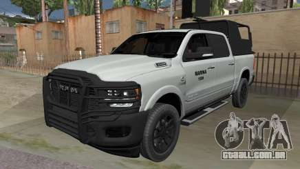 Dodge Ram 2020 MARINA para GTA San Andreas